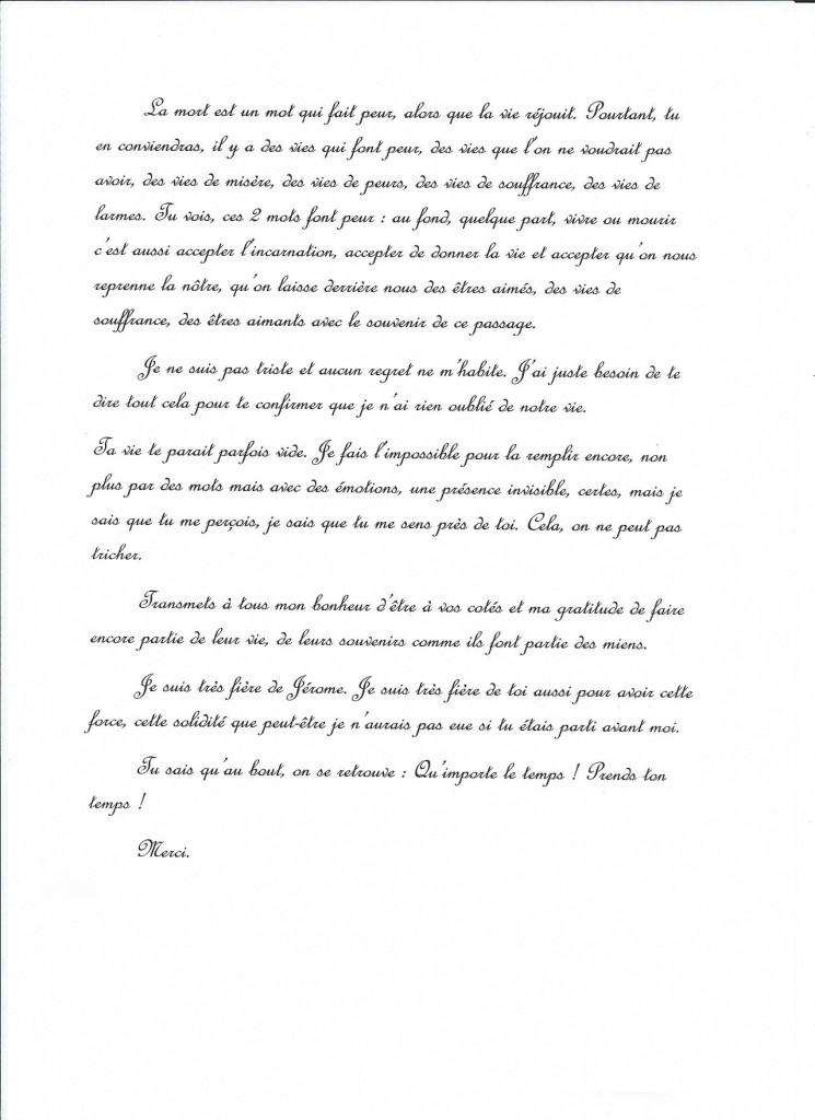 Retranscription d'une communication de Jeanne le 25 septembre 2014. (3/3)